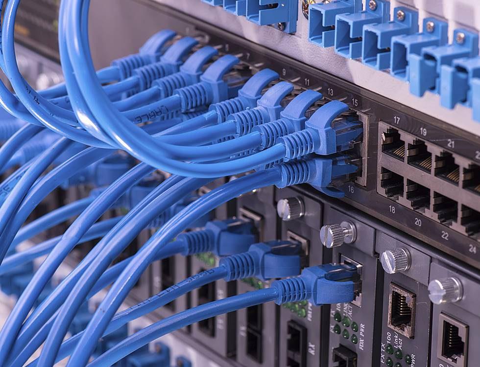 Netzwerkverkabelung Innerhuber Elektrotechnik